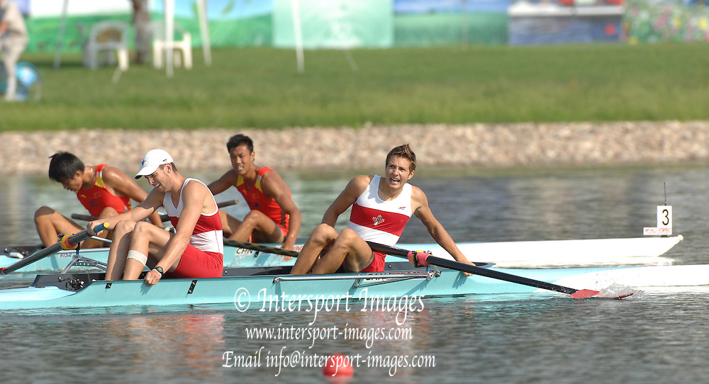 Beijing, CHINA. A Finals at  the  2007. FISA Junior World Rowing Championships,  Shunyi Water Sports Complex. 11/08/2007 [Photo, Peter Spurrier/Intersport-images]..... , Rowing Course, Shun Yi Water Complex, Beijing, CHINA,