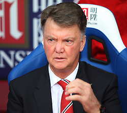 Manchester United Manager Louis van Gaal before the match  - Mandatory byline: Jack Phillips/JMP - 07966386802 - 31/10/2015 - SPORT - FOOTBALL - London - Selhurst Park Stadium - Crystal Palace v Manchester United - Barclays Premier League