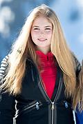 Fotosessie met de koninklijke familie in Lech /// Photoshoot with the Dutch royal family in Lech .<br /> <br /> Op de foto/ On the photo: Prinses Amalia //  Princess Amalia