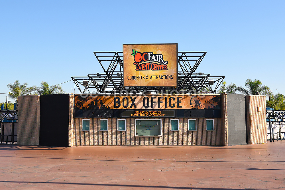 Pacific Amphitheatre Box Office At OC Fair Grounds