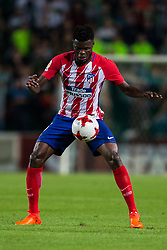 October 25, 2017 - Elche, Elche, Spain - Thomas  of Atletico de Madrid with the ball during the Spanish Copa del Rey (King's Cup) round of 32 first leg football match between.Elche CF and Atletico de Madrid at the Martinez Valero stadium in Elche (Credit Image: © Sergio Lopez/Pacific Press via ZUMA Wire)