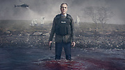 WARNING: Embargoed for publication until 00:00:01 on 16/02/2021 - Programme Name: Bloodlands - TX: n/a - Episode: n/a (No. n/a) - Picture Shows:  Tom Brannick (James Nesbitt) - (C) HTM Television /iStock - Photographer: Steffan Hill