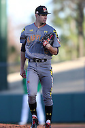 CARY, NC - MARCH 03: Maryland's Bryan Shaffer. The University of Maryland Terrapins played the University of Notre Dame Fighting Irish on March 3, 2017, at USA Baseball NTC Stadium Field in Cary, NC in a Division I College Baseball game, and part of the Irish Classic tournament. Maryland won the game 4-3.