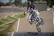 #1 (VAN GENDT Twan) NED during practice at Round 9 of the 2019 UCI BMX Supercross World Cup in Santiago del Estero, Argentina