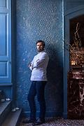 Milan, Chef Cracco in his restaurant
