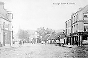 A picture of College Street Killarney taken circa 1900.<br /> Picture from the macmonagle collection