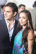 Bollywood actor Arbaz Khan arriving with wife Mallaika Arora-Khan at the International Indian Film Academy Awards (IIFA) ceremony at the Hallam Arena in Sheffield for the annual IIFA awards. The awards were known as the 'Bollywood Oscars' and ran from 7-10th June. They were watched by an estimated global television audience 500 million people.