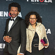 NLD/Amsterdam/20191118 - Filmpremiere Penoza: The Final Chapter, Gustav Borreman en partner