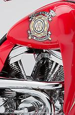 """Arlen Ness """"Fire Bike"""""""