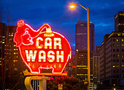 Classic carwash in Seattle, Washington
