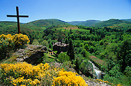France, Languedoc Roussillon, Lozère, Cévennes,  château de Champs