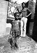 George Faith at Lee Perry's Black Ark Studios. 1978