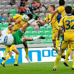 20110917: SLO, Football - PrvaLiga, NK Olimpija Ljubljana vs NK Domzale
