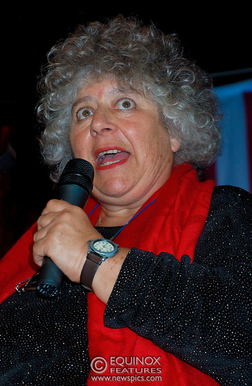 London, United Kingdom - 2 September 2009.Comedienne Ruby Wax and actresses Belinda Lang and Miriam Margolyes performing at gay bar the Royal Vauxhall Tavern, Vauxhall, London, England, UK on 2 September 2009..(photo by: EDWARD HIRST/EQUINOXFEATURES.COM).Picture Data:.Photographer: EDWARD HIRST.Copyright: ©2009 Equinox Licensing Ltd. +448700 780000.Contact: Equinox Features.Date Taken: 20090902.Time Taken: 211845+0000.www.newspics.com