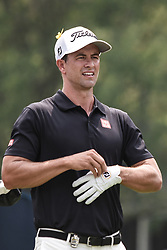 August 12, 2018 - Town And Country, Missouri, U.S - ADAM SCOTT from Australia on hole two during round four of the 100th PGA Championship on Sunday, August 12, 2018, held at Bellerive Country Club in Town and Country, MO (Photo credit Richard Ulreich / ZUMA Press) (Credit Image: © Richard Ulreich via ZUMA Wire)