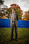"Joel Podolney, former Dean of Yale School of Management.  Photographed at Yale University for Fortune Magazine's list of ""10 Guru's You Should Know"".  Podolny is currently Dean of Apple University.   2008-10"