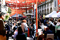 London's Chinatown 'first day of freedom' as lockdown restrictions start to ease photo by Krisztian Kobold Elek