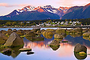 Alaska, Haines, Rock, Landscape, Sunrise