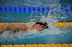 08-04-2011 ZWEMMEN: SWIMCUP: EINDHOVEN<br /> Job Kienhuis heeft op de tweede dag van de Swim Cup het Nederlands record op de 800 meter vrije slag verbeterd.<br /> ©2011 Ronald Hoogendoorn Photography