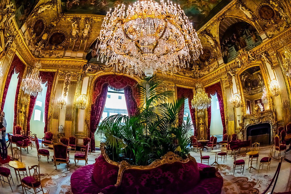 Grand Salon, Apartments, Napoleon III, Louvre Museum, Paris, France.