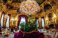 Grand Salon, Apartments, Napoleon III, Louvre Museum, Paris, France.