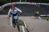 #295 (ROURA BARZALLO Jorge Geovanny) ECU at the 2016 UCI BMX Supercross World Cup in Santiago del Estero, Argentina