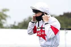 Jockey Joshua Bryan - Mandatory by-line: Robbie Stephenson/JMP - 19/08/2020 - HORSE RACING - Bath Racecourse - Bath, England - Bath Races