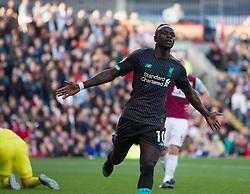 Sadio Mane of Liverpool celebrates after scoring his sides second goal - Mandatory by-line: Jack Phillips/JMP - 31/08/2019 - FOOTBALL - Turf Moor - Burnley, England - Burnley v Liverpool - English Premier League
