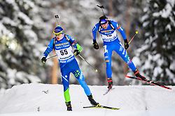 March 9, 2019 - –Stersund, Sweden - 190309 Raman Yaliotnau of Belarus competes in the Men's 10 KM sprint during the IBU World Championships Biathlon on March 9, 2019 in Östersund..Photo: Petter Arvidson / BILDBYRÃ…N / kod PA / 92252 (Credit Image: © Petter Arvidson/Bildbyran via ZUMA Press)