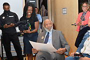 6/22/21 Minneapolis MN. The Sounds of Blackness, three time Grammy winners welcome Civil Rights icon, author  and Mississippi's Native son, James Meredith to<br /> St Paul, Minnesota. Meredith was treated to a private rehearsal of the Ensemble, and Meredith spoke about his plans for the future. Photo © Suzi Altman