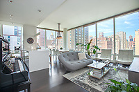 Living Room at 300 East 23rd Street