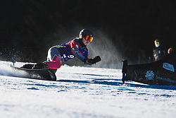 Carolin Langenhorst (GER) during parallel slalom FIS Snowboard Alpine World Championships 2021 on March 2nd 2021 on Rogla, Slovenia. Photo by Grega Valancic / Sportida