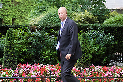 London, June 27th 2017. Transport Secretary Chris Grayling attends the weekly UK cabinet meeting at 10 Downing Street in London.