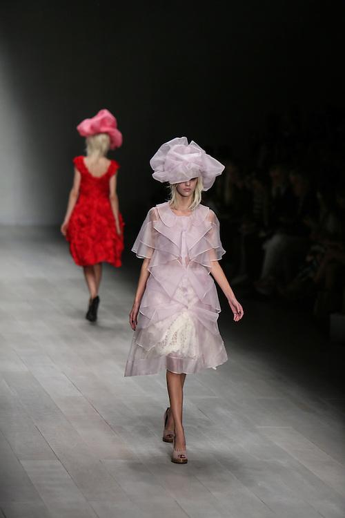John Rocha show during London Fashion Week, Spring/Summer 2013