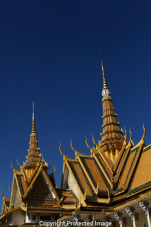 The Royal Palace in Phnom Penh, Cambodia<br /> <br /> Photo by Dennis Brack