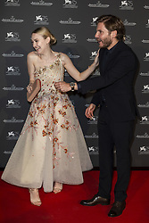 Dakota Fanning, Daniel Bruhl attend the Jaeger Le-Coultre Gala night held at Arsenale Docks during the 75th Venice Film Festival at Sala Grande on September 4, 2018 in Venice, Italy. Photo by Marco Piovanotto/ABACAPRESS.COM