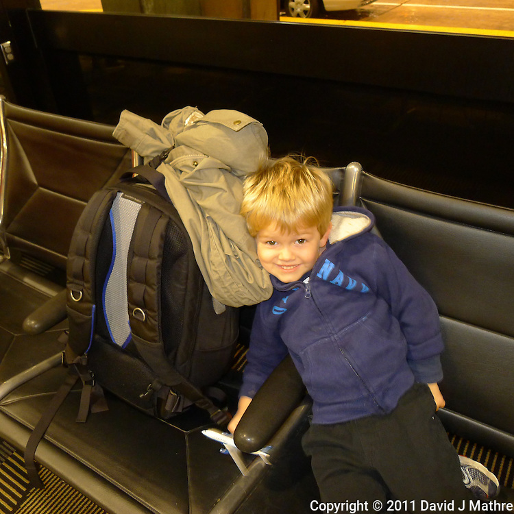 Jens Picking Me Up at Tampa International Airport