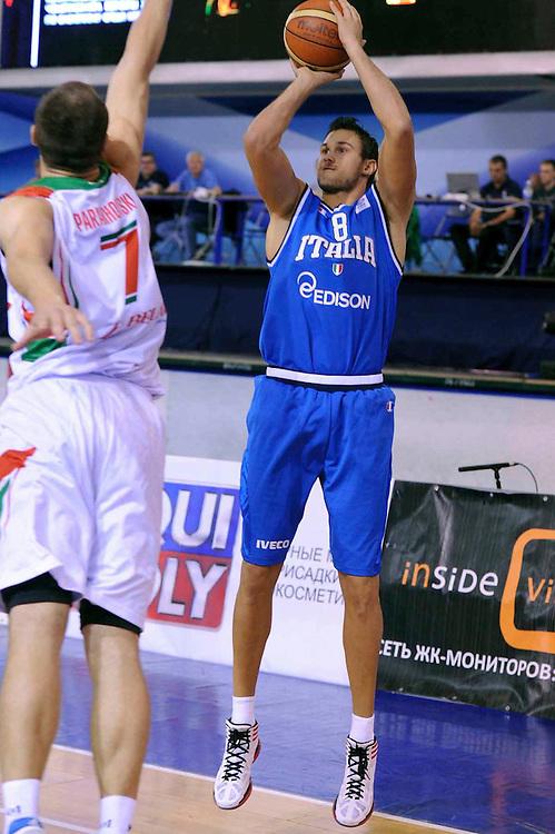 Bielorussia, 24/08/2012<br /> Basket, Eurobasket 2013 Qualifying Round<br /> Bielorussia - Italia<br /> Nella foto: Danilo Gallinari<br /> Foto Ciamillo