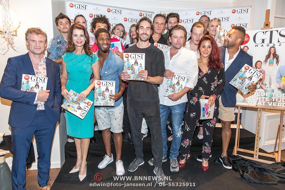 NLD/Amsterdam//20170706 - Lancering 'GTST' Magazine, Cast onthult het magazine