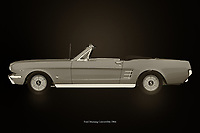 this Ford Mustang Convertible from 1964 is pure nostalgia. A powerful engine makes this Ford Mustang roar and with an open roof it's fantastic touring around with this 1964 Ford Mustang Convertible.<br />
