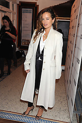 JADE JAGGER at a charity screening of 'Un Coer en Hiver' in aid of Filmaid International at The Electric Cinema, Portobello Road, London W11 on 7t h October 2008.