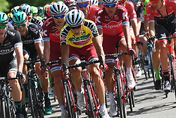 June 17, 2017 - Schaffhausen, Suisse - SCHAFFHAUSSEN, SWISS - JUNE 17 : SPILAK Simon (SLO) Rider of Team Katusha - Alpecin during stage 8 of the Tour de Suisse cycling race, a stage of 100 kms between Schaffhaussen and Schaffhaussen on June 17, 2017 in Schaffhaussen, Swiss, 17/06/2017 (Credit Image: © Panoramic via ZUMA Press)