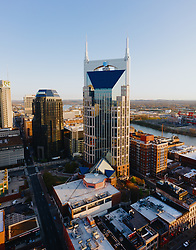 The AT&T Batman building in Nashville, Tennessee .