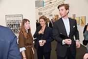 lady FrancesHofmannsthal; GINEVRA ELKANN; Rodolphe von Hofmannsthal, opening of the 2010 Frieze art fair. Regent's Park. London. 13 October 2010. -DO NOT ARCHIVE-© Copyright Photograph by Dafydd Jones. 248 Clapham Rd. London SW9 0PZ. Tel 0207 820 0771. www.dafjones.com.