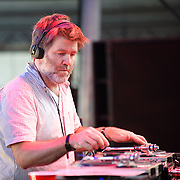 COLUMBIA, MD, -September 10th, 2011 -  After headlining the Pavilion Stage with his group LCD Soundsystem last year, James Murphy DJ'ed a set in the Dance Tent  at this year's Virgin Mobile FreeFest. (Photo by Kyle Gustafson/FTWP).