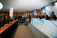 """PORTUGAL - LISBOA 26 NOVEMBER 2004: official presentation of the UEFA CUP FINAL 2005 to be held in """"Alvalade XXI"""" home of the Lisbon squad Sporting CP, that is participating this year on the UEFA Cup. The presentation was held in the new building of the Portuguese Soccer Federation,  26/11/2004  11:28:57<br />(PHOTO BY: NUNO ALEGRIA/AFCD)<br /><br />PORTUGAL OUT, PARTNER COUNTRY ONLY, ARCHIVE OUT, EDITORIAL USE ONLY, CREDIT LINE IS MANDATORY AFCD-PHOTO AGENCY 2004 © ALL RIGHTS RESERVED"""