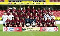 Fotball<br /> Bundesliga 2003/2004<br /> Foto: Matthias Hangst, Digitalsport<br /> <br /> 1. FC Kaiserslautern<br /> <br /> hinten v.l.: Petr GABRIEL, Marian HRISTOV, Selim TEBER, Miroslav KLOSE, Vratislav LOKVENC, Aleksander KNAVS, Halil ALTINTOP, Hany RAMZY, Stijn VREVEN<br /> <br /> Mitte v.l.: Torwart-Trainer Gerald EHRMANN, Co-Trainer Karlheinz EMIG, Christian TIMM, LINCOLN, Herve LEMBI, Nenad BJELICA, Dimitrios GRAMMOZIS, Torsten REUTER, Co-Trainer Reinhard STUMPF, Fussballtrainer Erik GERETS<br /> <br /> vorn v.l.: Mika NUMELA, RATINHO, Thomas RIEDL, Jose DOMINGUEZ, Thomas ERNST, Tim WIESE, Markus ANFANG, Michael LEHMANN, Michael MIFSUD, Thomas HENGEN