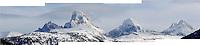The Teton Range from Alta, Wyo.