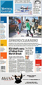 March 18, 2021 (CANADA): Front-page: Today's Newspapers In Canada