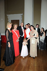 Left to right, PRINCESS OLGA OF RUSSIA, PRINCESS DIMITRI OF RUSSIA, PRINCE DIMITRI OF RUSSIA, SIMON & DEBORAH GURNEY with their daughter EMILY at the 13th annual Russian Summer Ball held at the Banqueting House, Whitehall, London on 14th June 2008.<br /><br />NON EXCLUSIVE - WORLD RIGHTS